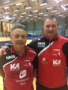 Endre Furu og Roger Andersson vart begge noregsmeistrar i helga!